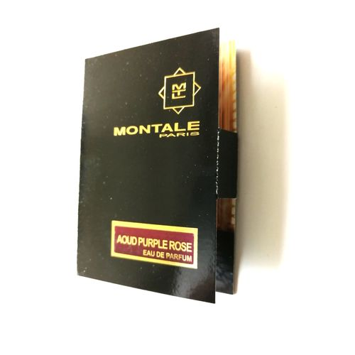 Montale Aoud Purple Rose Eau de Parfum Sample Spray 2ml унисекс