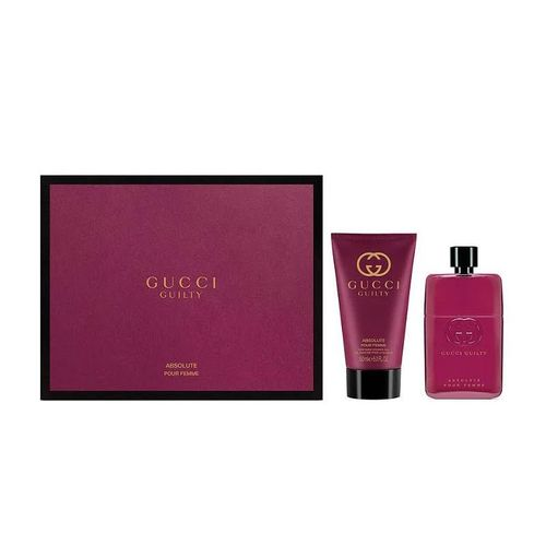 Gucci Guilty Absolute Pour Femme Gift Set EDP Spray 50ml + Body Lotion 50ml комплект за жени