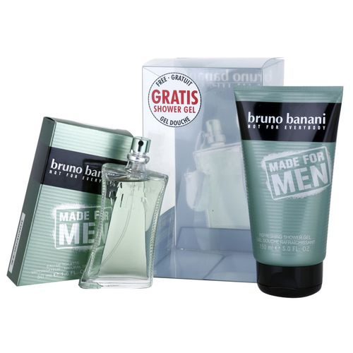 Bruno Banani Made for Men Gift Set EDT Spray 50ml + Shower Gel 150ml