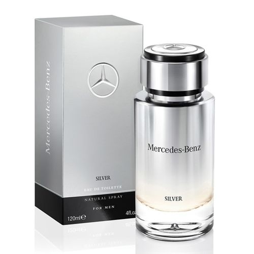 Mercedes Benz Silver 2017 Men Eau de Toilette Spray 120ml
