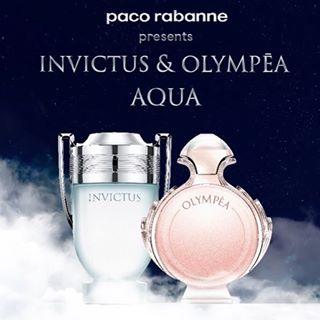 Резултат с изображение за Paco Rabanne Invictus Aqua /мъжки/ EdT 100 ml