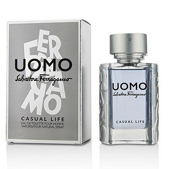 Salvatore Ferragamo Uomo Casual Life Eau de Toilette Spray 50ml за мъже