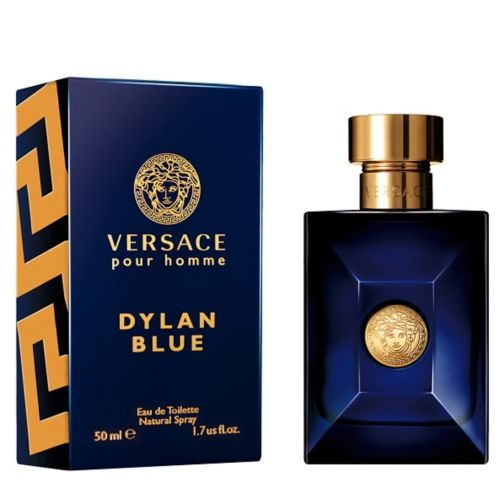Versace Pour Homme Dylan Blue 2016 Men Eau de Toilette Spray 50ml